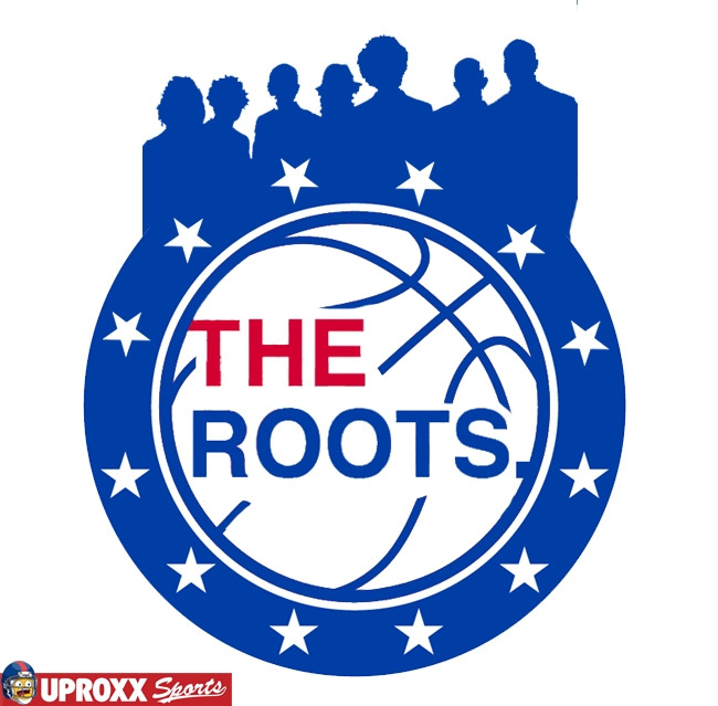the roots 76ers logo