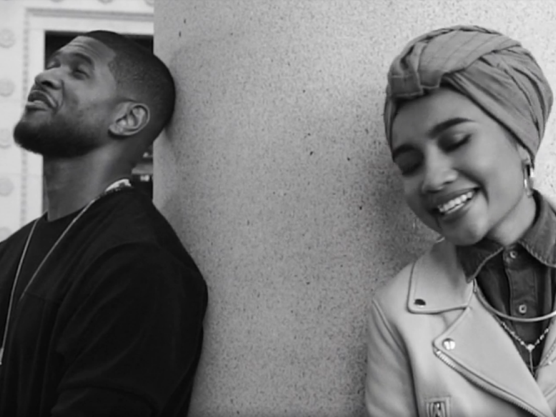 "Yuna & Usher Vibe In The Video For ""Crush"""