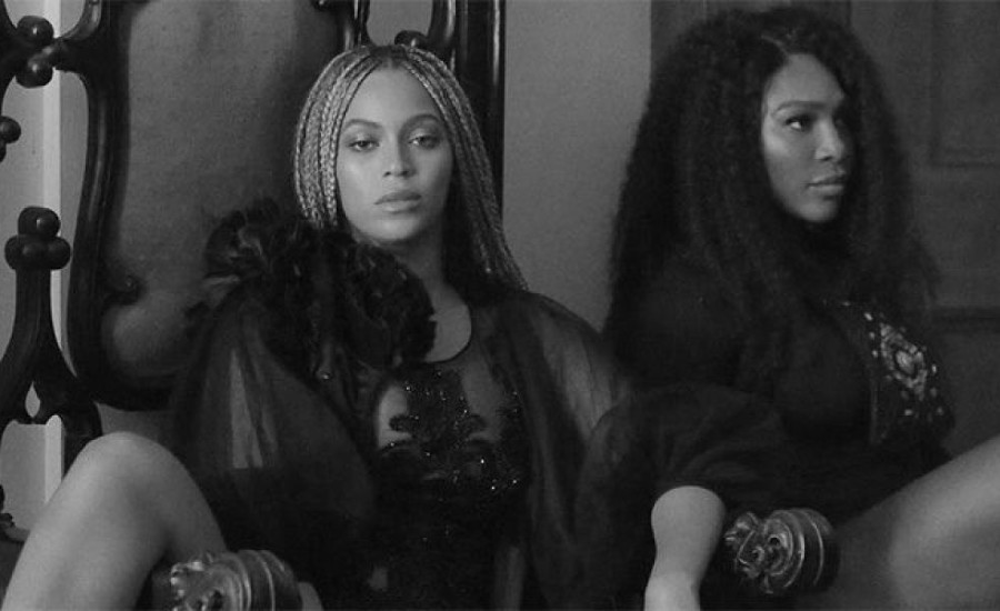 "Beyonce Gave Serena Williams Pointers For ""Sorry"" Video"