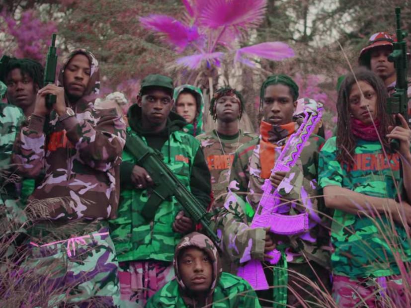 "A$AP Mob & Juicy J Honor A$AP Yams In Trippy ""Yamborghini High"" Video"