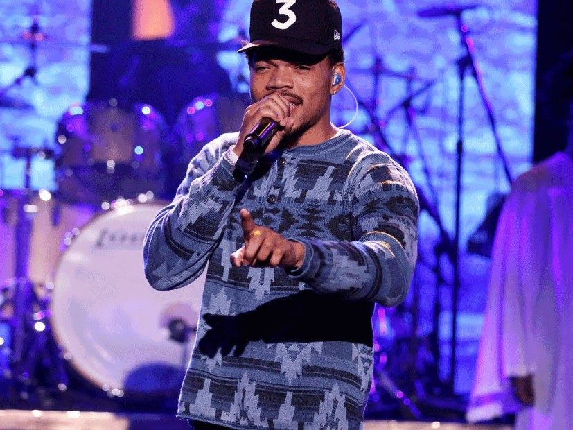 "Chance The Rapper Debuts New Single ""Blessings"" On Jimmy Fallon"