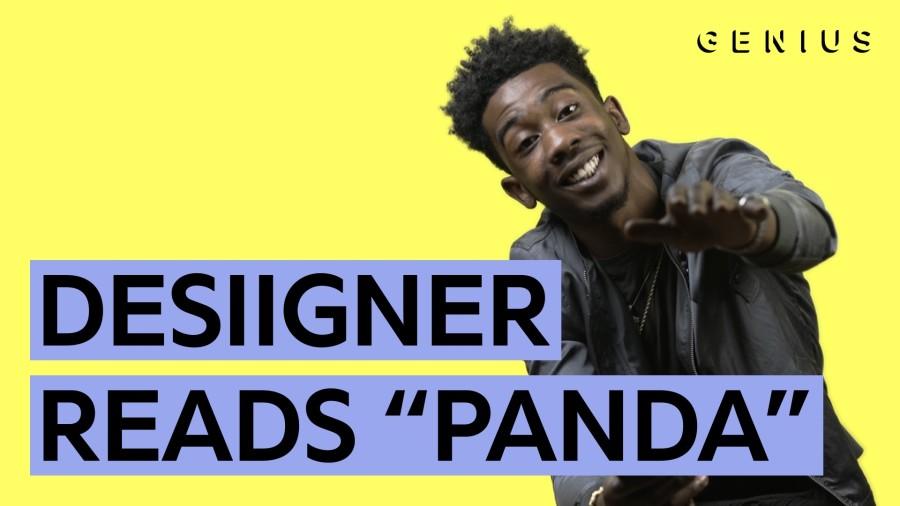 "Desiigner Reads Us ""Panda"" Lyrics"