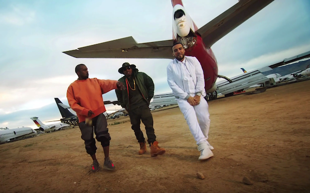 """Kandypens & French Montana """"Figure It Out"""" With Kanye West & Nas"""