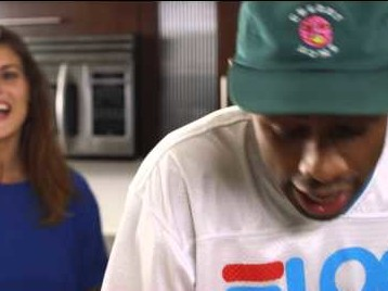 Tyler, The Creator Shows Us How To Make Cinnamon Waffles