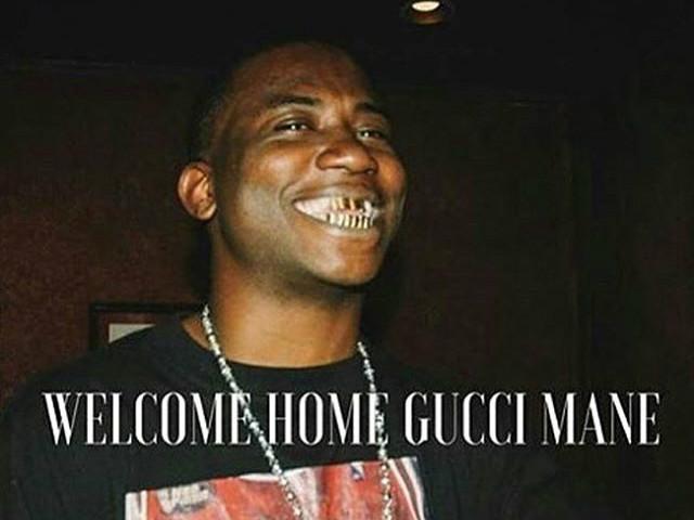 Hip Hop Celebrates Gucci Mane's Release