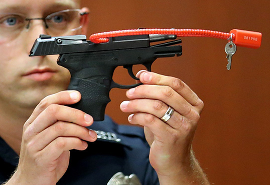 George Zimmerman Tries To Auction Gun That Killed Trayvon Martin, Gets Shut Down
