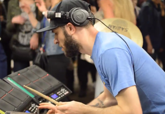 Drummer Uses Rihanna To Turn NYC Subway Into Instant Block Party