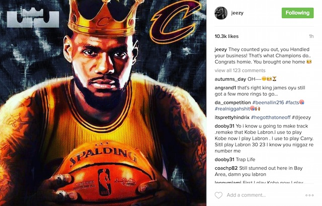 LeBron James & Cleveland Cavaliers Win First NBA Title In Team History | HipHopDX