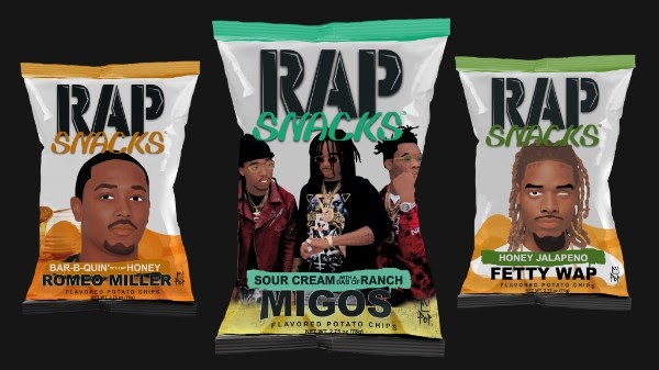 New Rap Snacks Packaging Unveiled With Migos, Fetty Wap & Romeo Miller ...