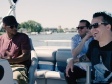 Slug Of Atmosphere Gets First Catch While Fishing W/ Sway Calloway