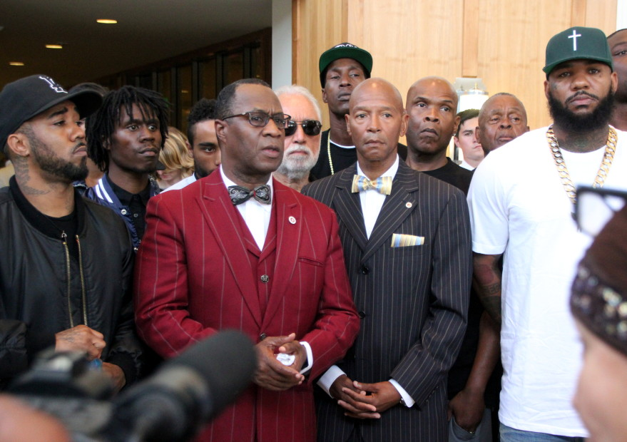 Snoop Dogg & The Game Organize L.A. Gang Forum For Bloods & Crips Peace Treaty