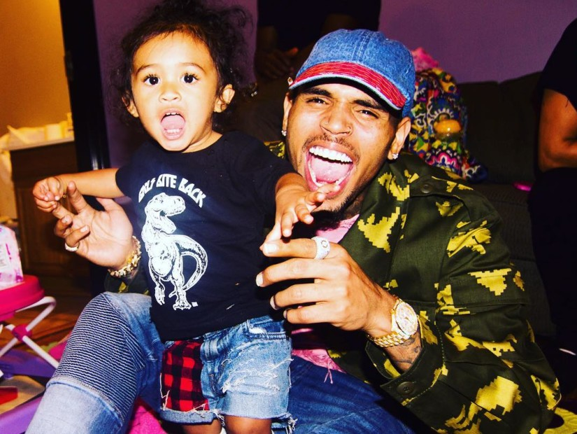 chris brown wins custody battle against his baby mama