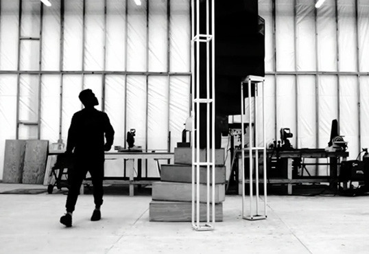 Another staircase shot from Frank Ocean's Endless