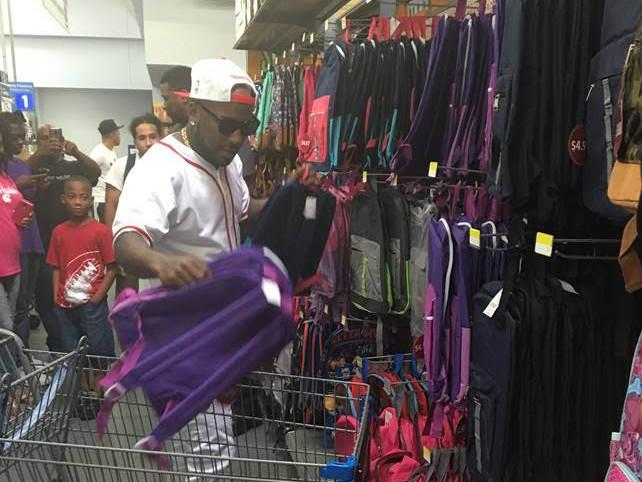 Jeezy Donates 2,500 Backpacks To Atlanta Students