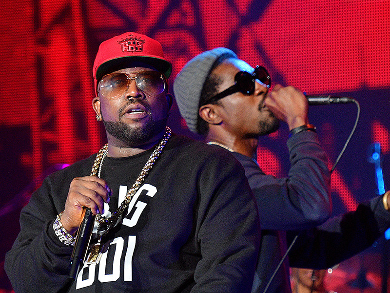 Outkast Celebrates Big Boi's Son's High School Graduation