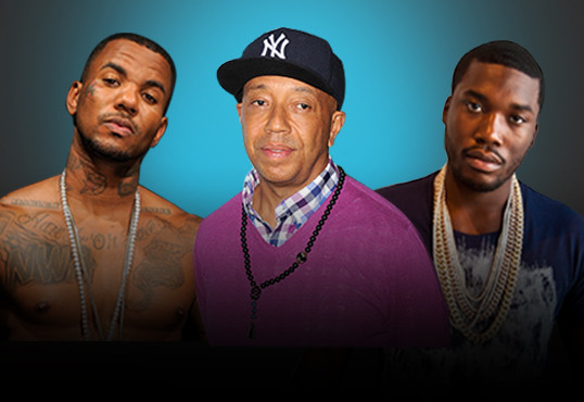 Media mogul Russell Simmons Advice Game and Meek Mill To squash beef