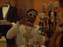 "Gucci Mane Rolls Through With Rick Ross In New Video For ""Money Machine"""