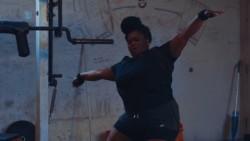 """Watch A Big Girl Lift Weights In Jarren Benton's """"WTFUTB"""""""