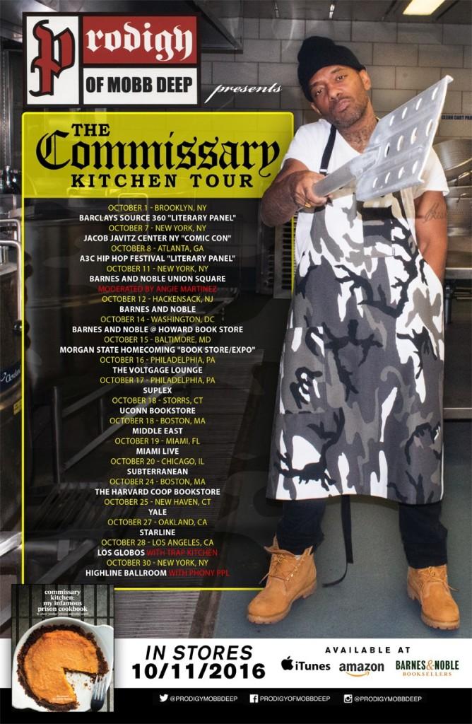 prodigy cookbook tour