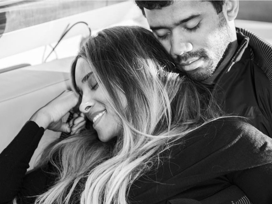 Russell Wilson and Ciara announce they're having a baby