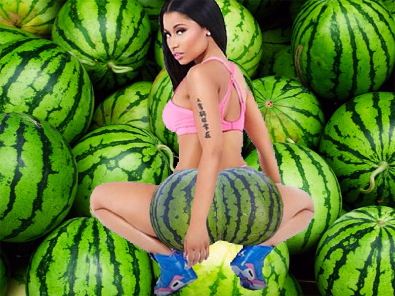 "Nicki Minaj Trolls Fans With Fake ""Pick My Fruit Out"" Album Announcement"