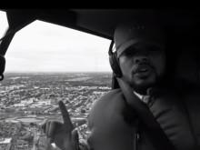 """Black EL Rides In A Chopper For """"EL EL Cool Che"""" Video"""