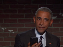 President Obama Reads His Final Mean Tweets On Jimmy Kimmel & Drops The Mic On Donald Trump