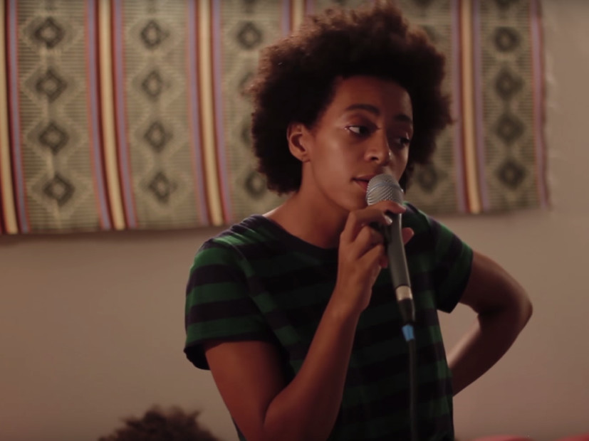 "Snapchat Jumpin': Solange Rocks Out To SZA's ""Love Galore"""