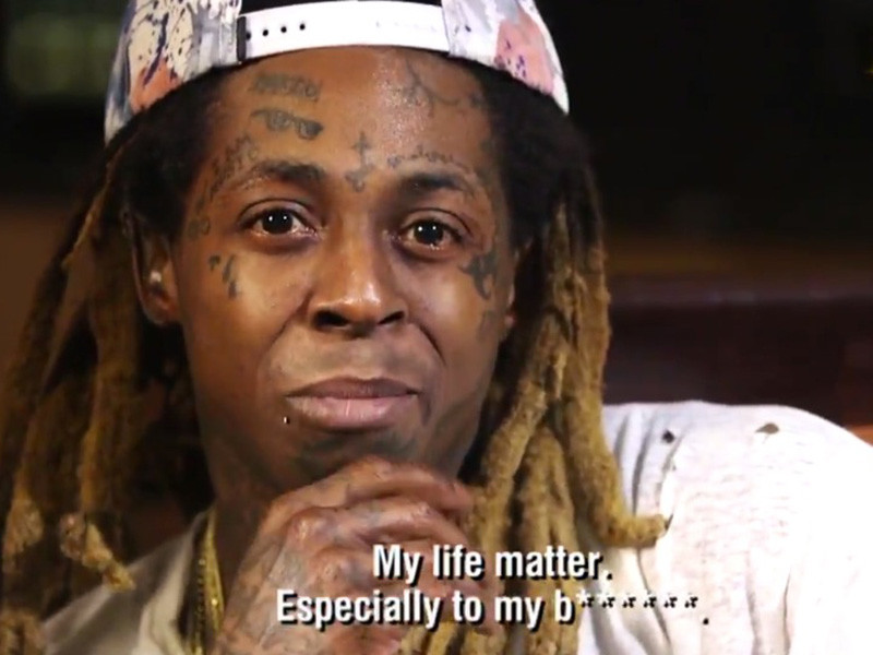 "Lil Wayne Doesn't Feel Connected To Black Lives Matter: ""My Life Matter"""