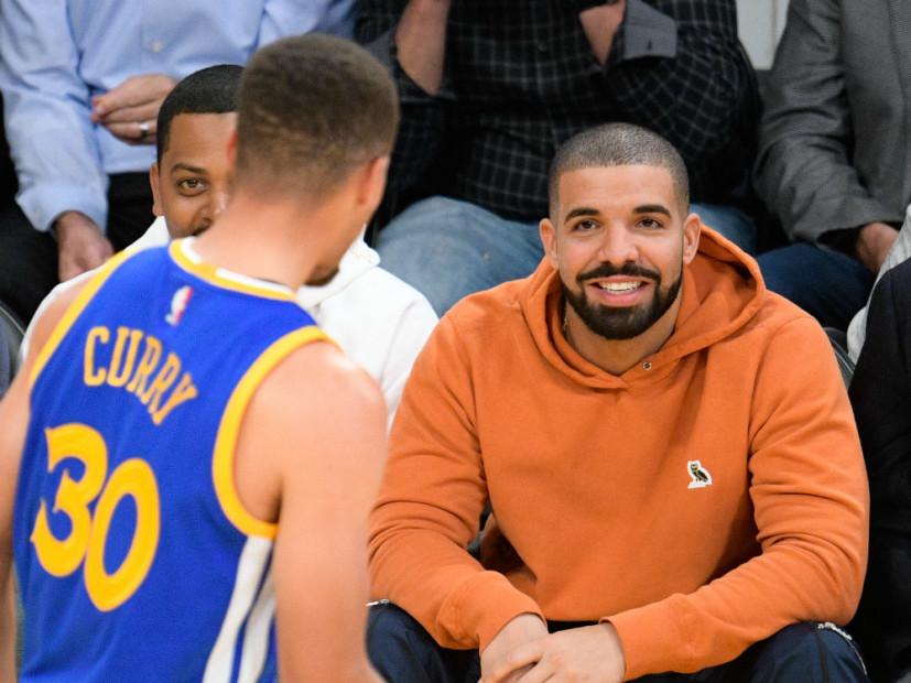 Drake Night Welcomes Golden State Warriors To Toronto ...