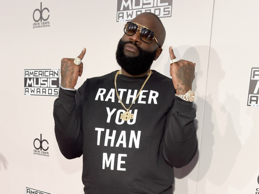 "Rick Ross Enlists Martha Stewart To Premiere ""Rather You Than Me"" Album Cover Art"