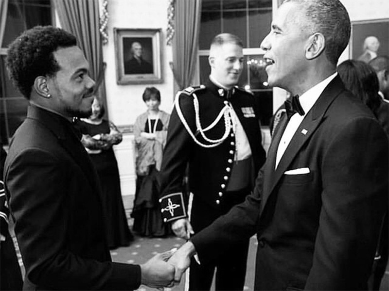 Watch Chance The Rapper Kill It At His White House Christmas Tree Lighting Performance