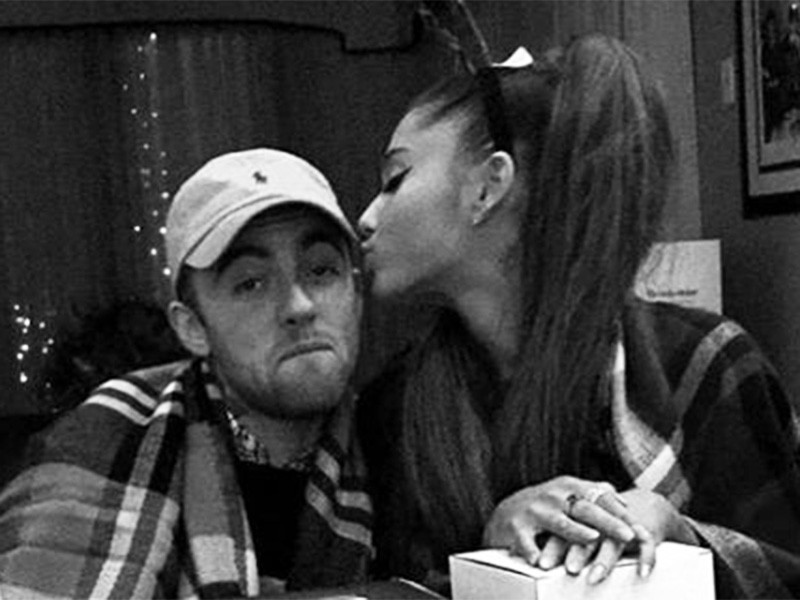 "Ariana Grande Pissed Fan Gave Mac Miller Props For ""Hitting That"""