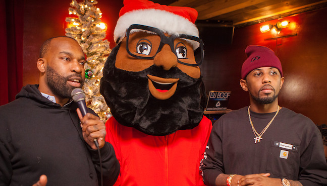 Fabolous & Baron Davis Raise $30K At NYC Toy Drive