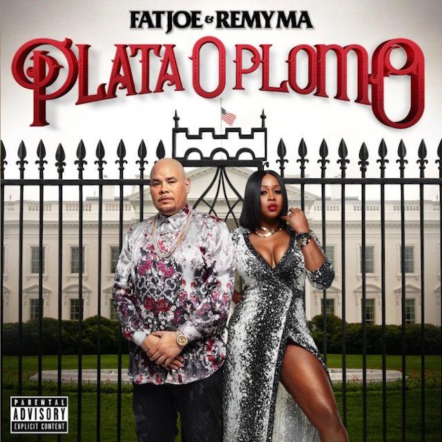 Fat Joe and Remy Ma Plata O Plomo album cover art