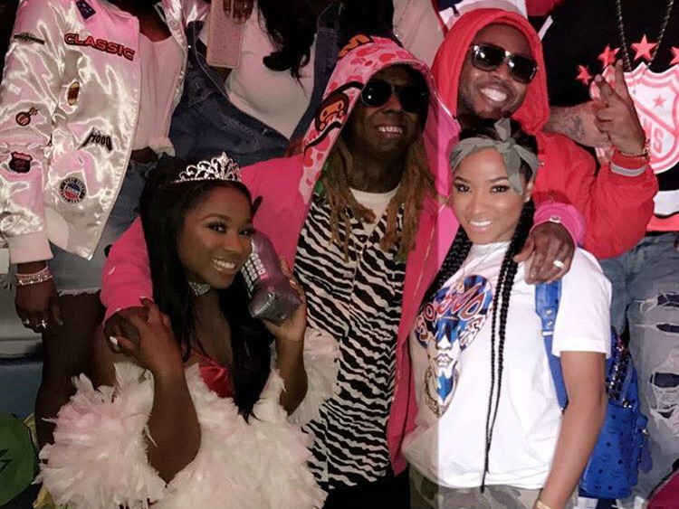 Lil Wayne & Toya Wright Celebrate Reginae Carter's 18th Birthday