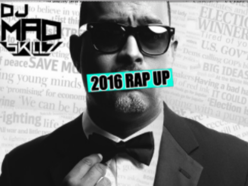 "Skillz Covers Donald Trump, Harambe, Kanye West & Everything Else 2016 In Annual ""Rap Up"""