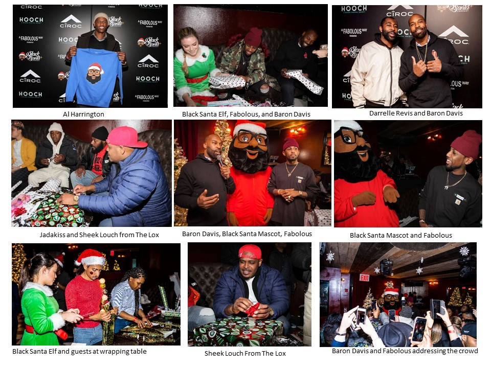 fabolous baron davis A Fabolous Way Foundation x Black Santa
