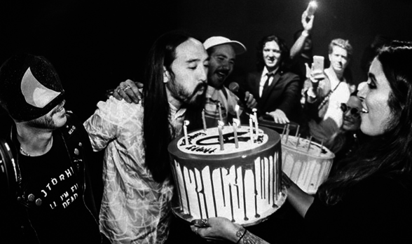 #FOMOBlog: Steve Aoki Keeps Cake For Himself, Marc E. Bassy Brings Out G-Eazy, Nick Murphy Shuts Down #30DaysInLA