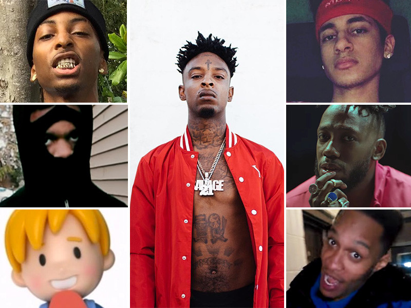 21 savage cousin raps and fuck ghetto black pussy same time 8