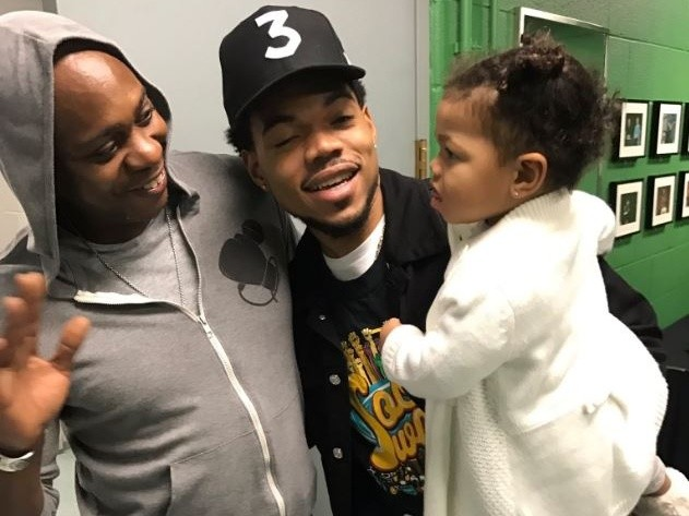 Tweets Is Watching: Dave Chappelle Pops Up At Chance The Rapper's Open Mike Event