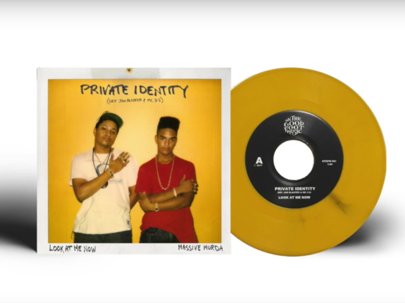 "Private Identity — Def Jam Blaster & Mr. 3-2 — Gets Reissue Of 1989's ""Look At Me Now"""