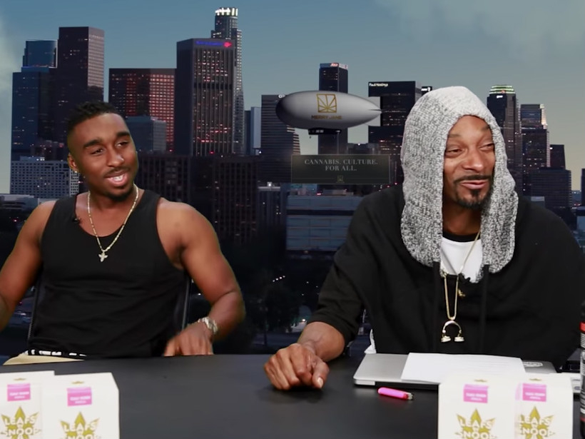 "Snoop Dogg Recalls Battling Tupac Shakur & First Time He Hit A Blunt On ""GGN"" Episode"