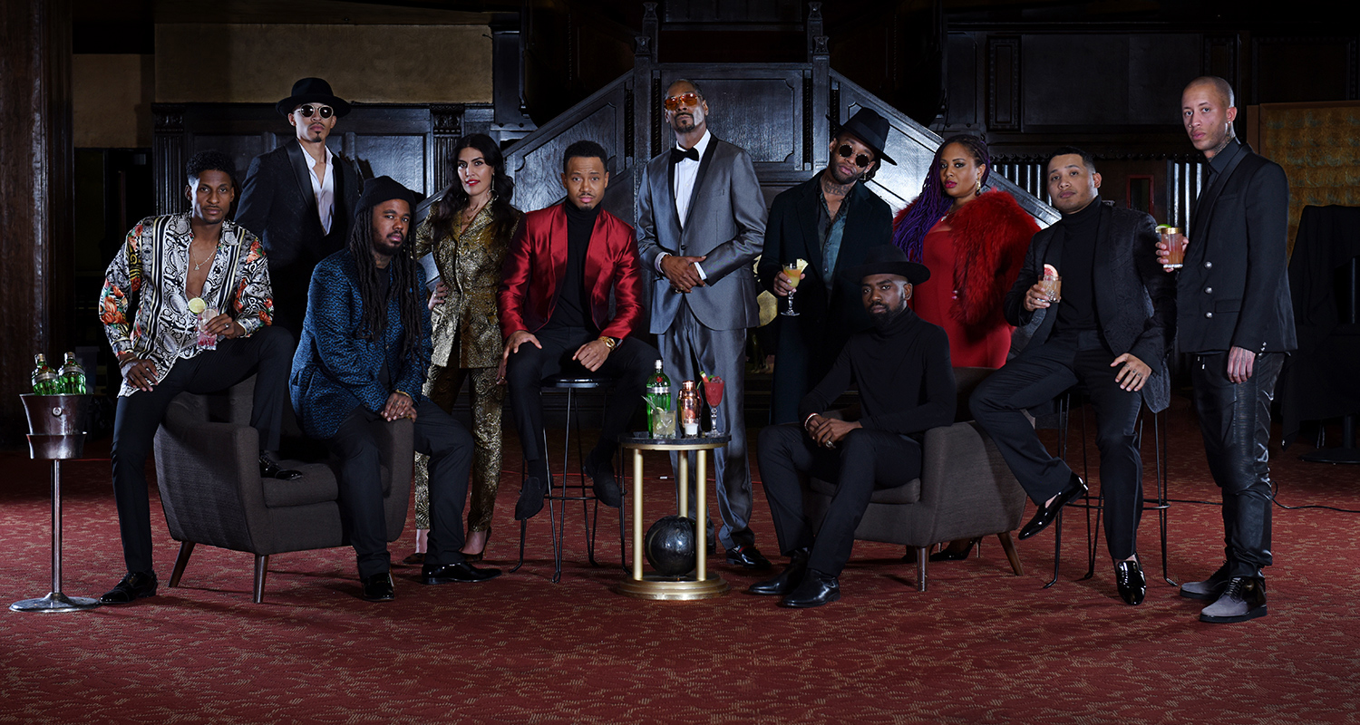 WELCOME TO 'THE TANQUERAY TEN' THE NEXT GENERATION OF INFLUENCERS CURATED BY ENTERTAINMENT ICON SNOOP DOGG