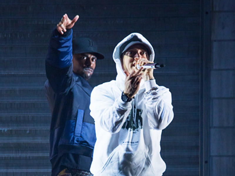 """Eminem Calls Donald Trump """"A Bitch"""" On The New Big Sean Song"""