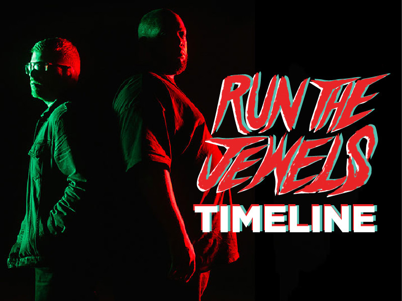 Timeline: How Run The Jewels Came Together