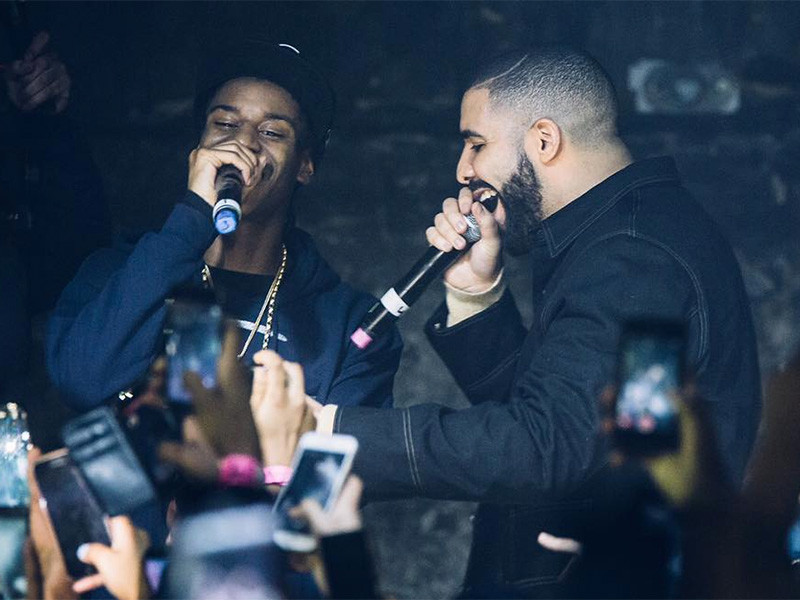 Drake Surprises Audience At Club Show In London