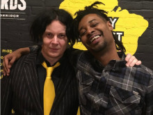 Danny Brown Lyrically Wilds Out At Jack White's Third Man Pressing Opening Party