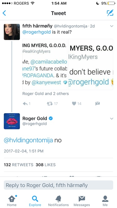 King Myers Roger Gold
