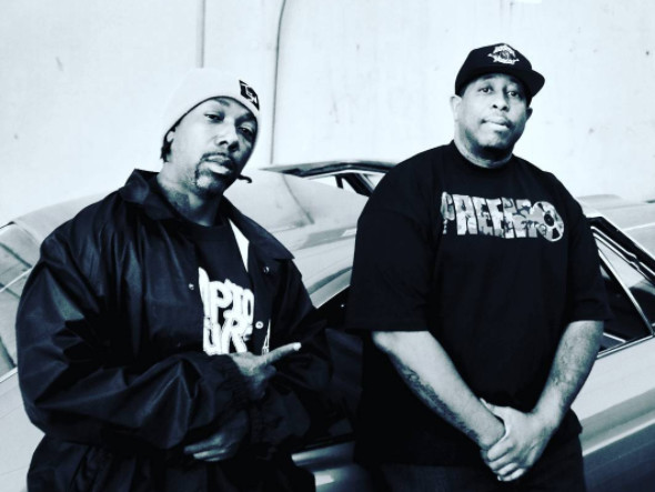 "MC Eiht Officially Unleashes ""Which Way Iz West"" With DJ Premier"